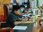 Rapat Paripurna DPRD Langkat