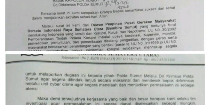 Anggota DPRD Binjai Dilapor ke Poldasu Kasus Penyuapan Pemilihan Wakil Walikota