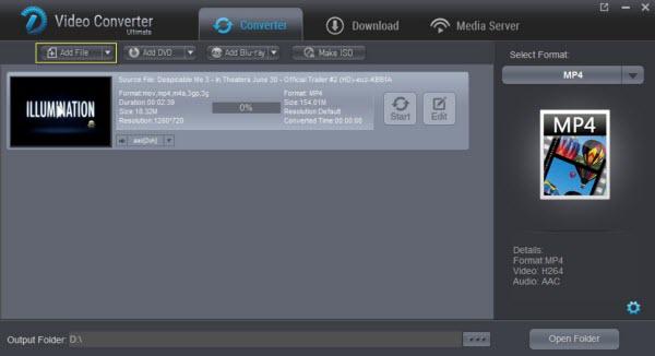 import 2d/3d clips