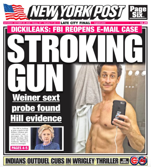 New York Post Twitter