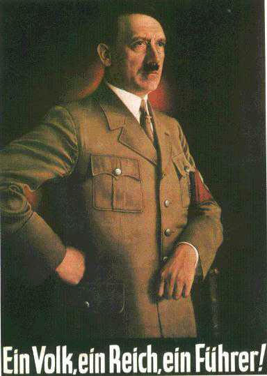 Adolf Hitler, one nation, one people, one leader