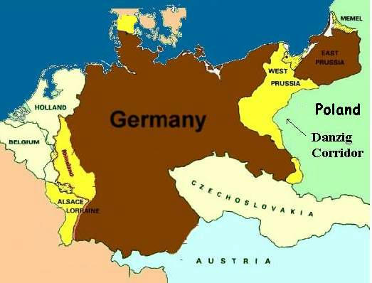 WWII Danzig Justice For Germans - Germany map ww2
