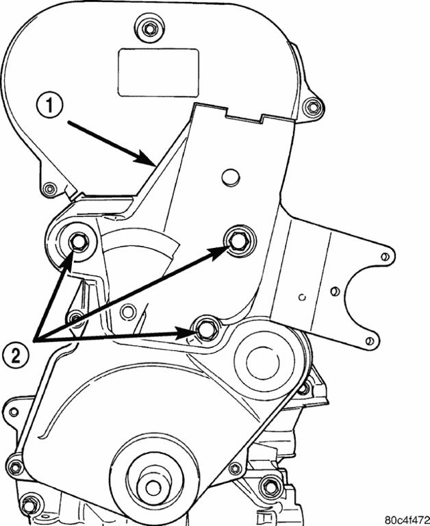 2002 PT cruiser: timing belt..water pump..step