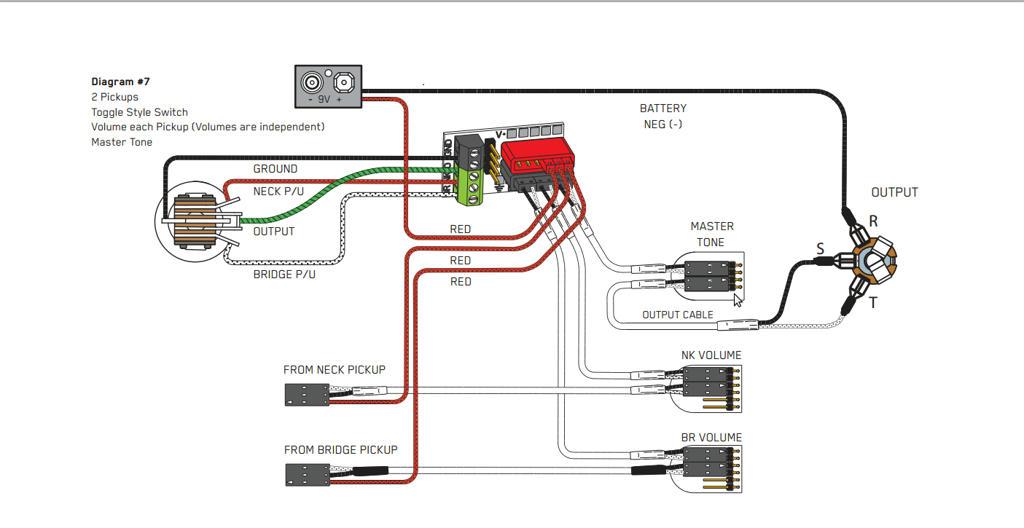 emg hz wiring diagram emg guitar wiring
