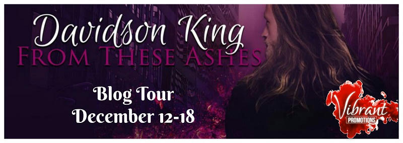 Davidson King - From These Ashes Tour Banner