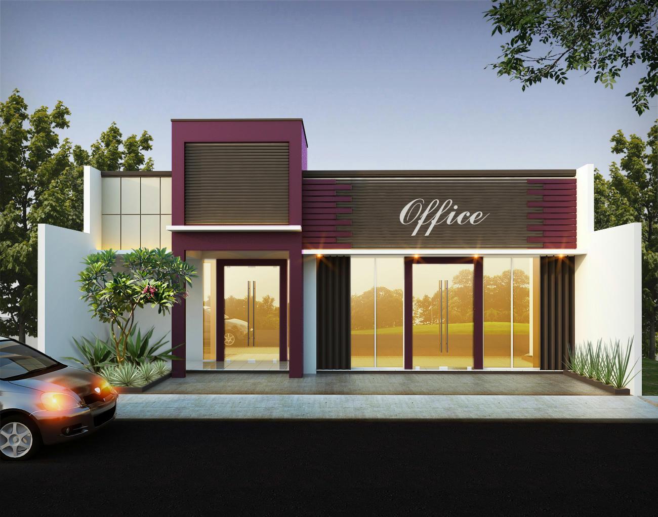 Contoh Ruko 1 Lantai Modern  Creo House