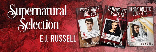E.J. Russell - Supernatural Selection Series Banner 1