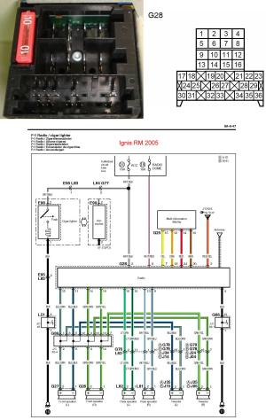 Ignis butchered radio wiring  Suzuki Forums: Suzuki Forum