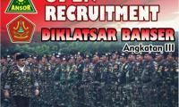 GP Ansor Kota Tasik Buka Pedaftaran DIKLATSAR Banser Angkatan Ke-III