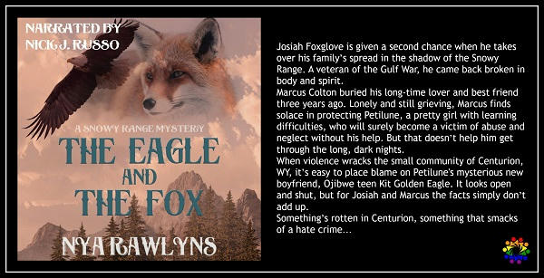 Nya Rawlyns - The Eagle and the Fox BLURB