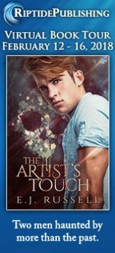 E.J. Russell - The Artists Touch TourBadge