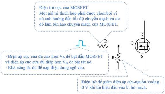 Mạch lái MOSFET công suất cơ bản
