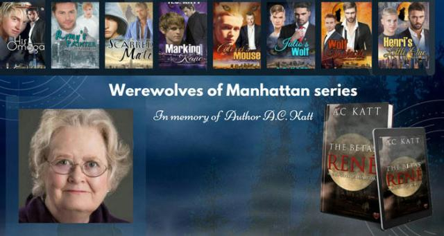 A.C. Katt - Werewolves of Manhattan series