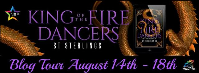 S.T. Sterlings - King of the Fire Dancers Banner