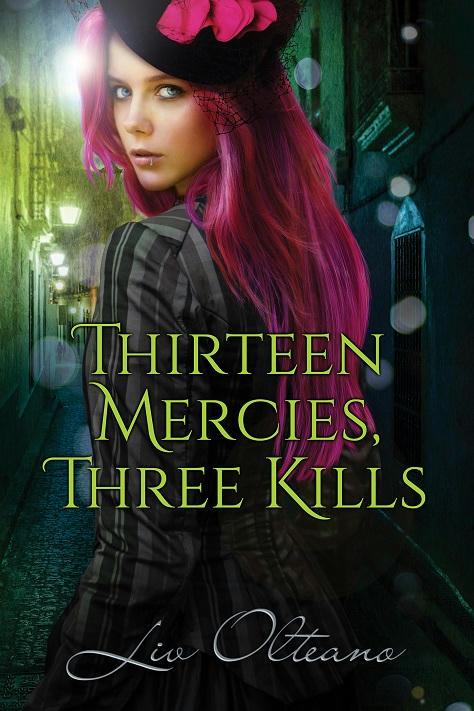 Liv Olteano - Thirteen Mercies, Three Kills Cover