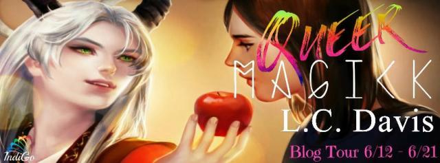L.C. Davis - Queer Magic BT Banner