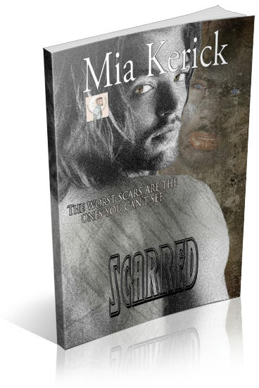Mia Kerick - Scarred 3D Cover