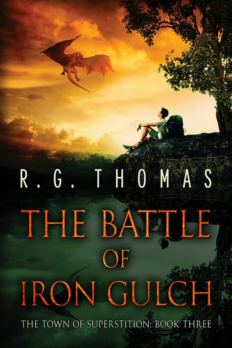 R.G. Thomas - The Battle of Iron Gulch Cover