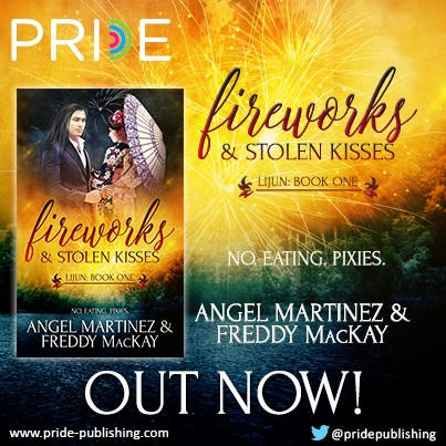 Angel Martinez & Freddy McKay - Fireworks and Stolen Kisses BANNER Square