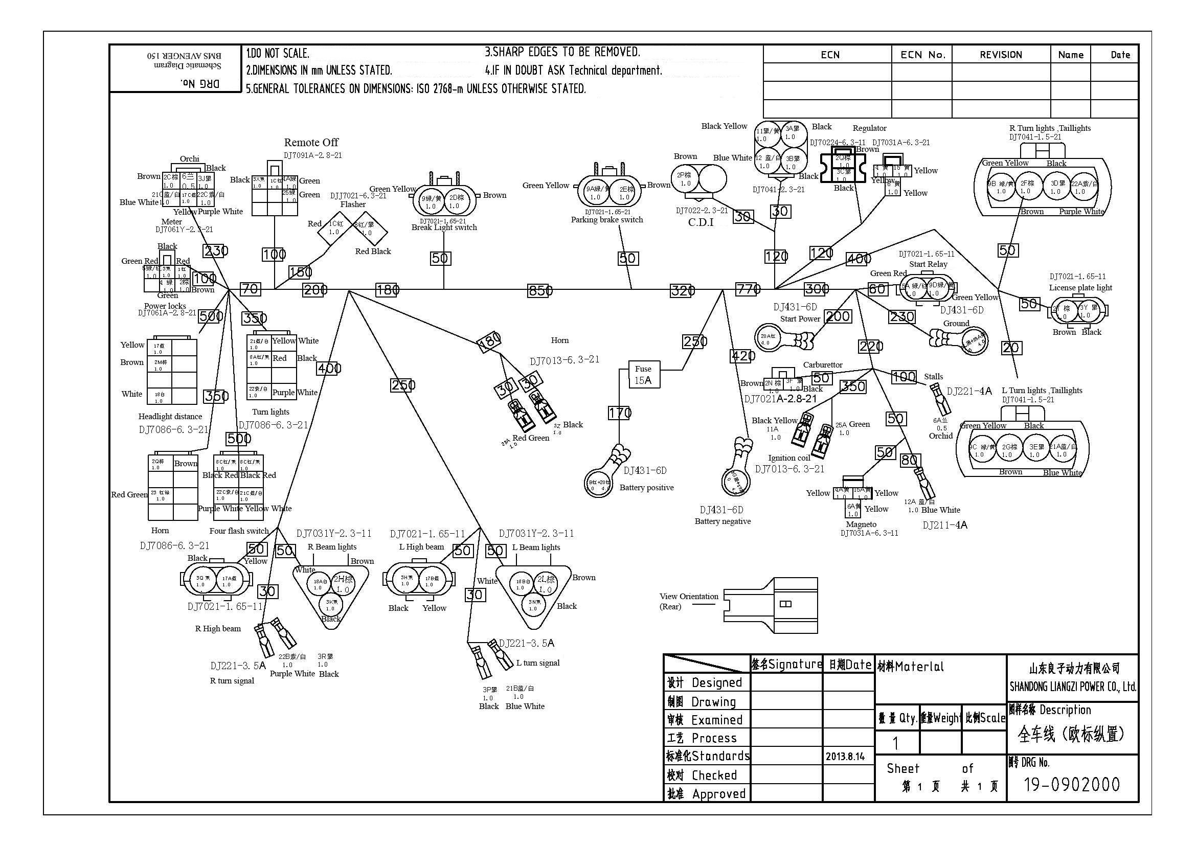 BMS Avenger 150 UTV (Complete Set)