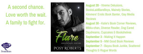 Posy Roberts - Flare TourGrahpic