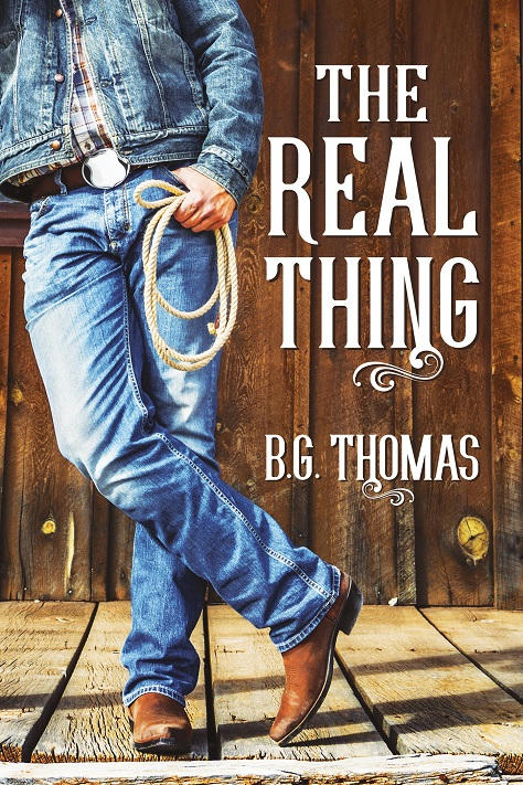 B.G. Thomas - The Real Thing Cover