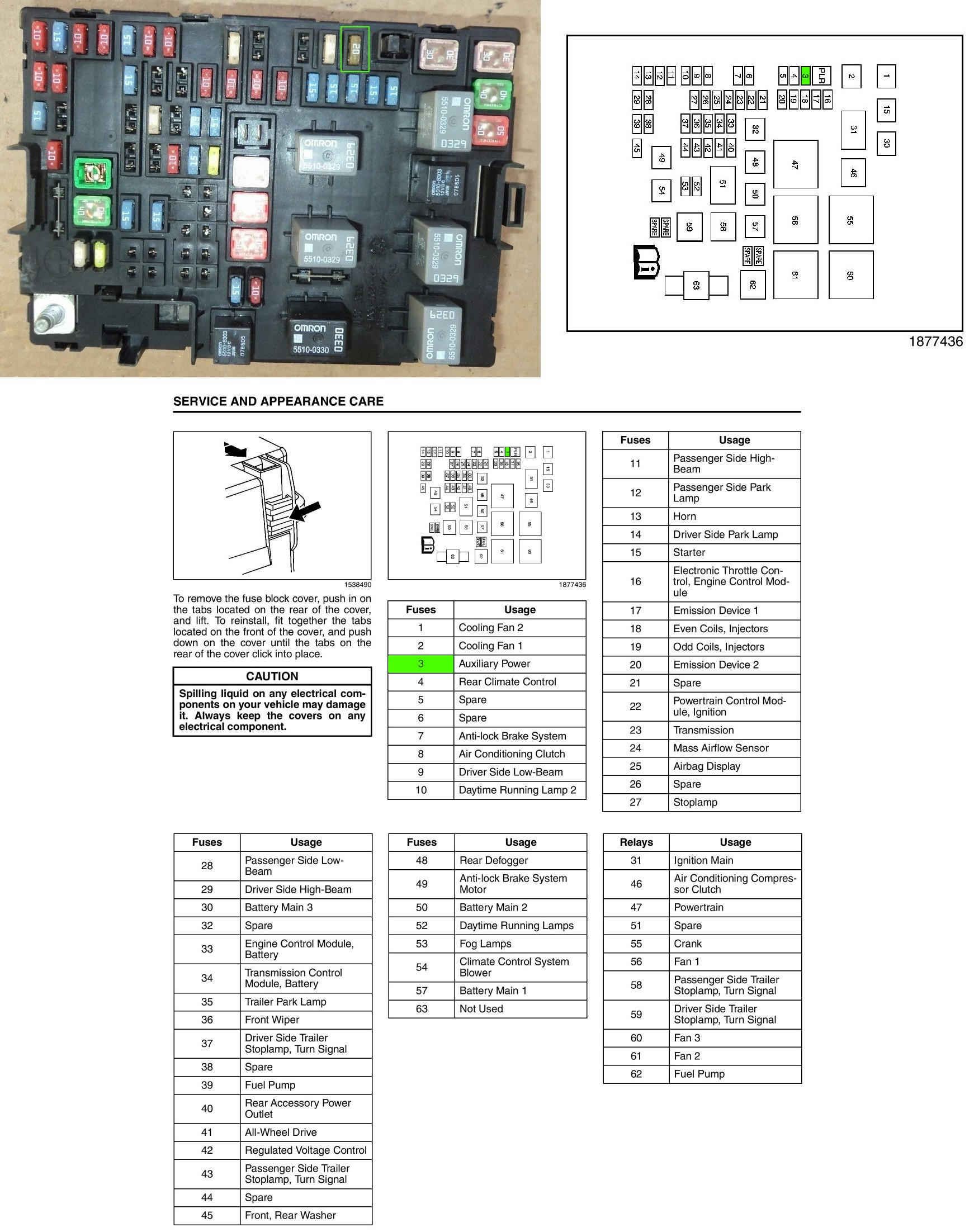 hight resolution of just a simple off the shelf mini fuse aux power fuse 3 20a
