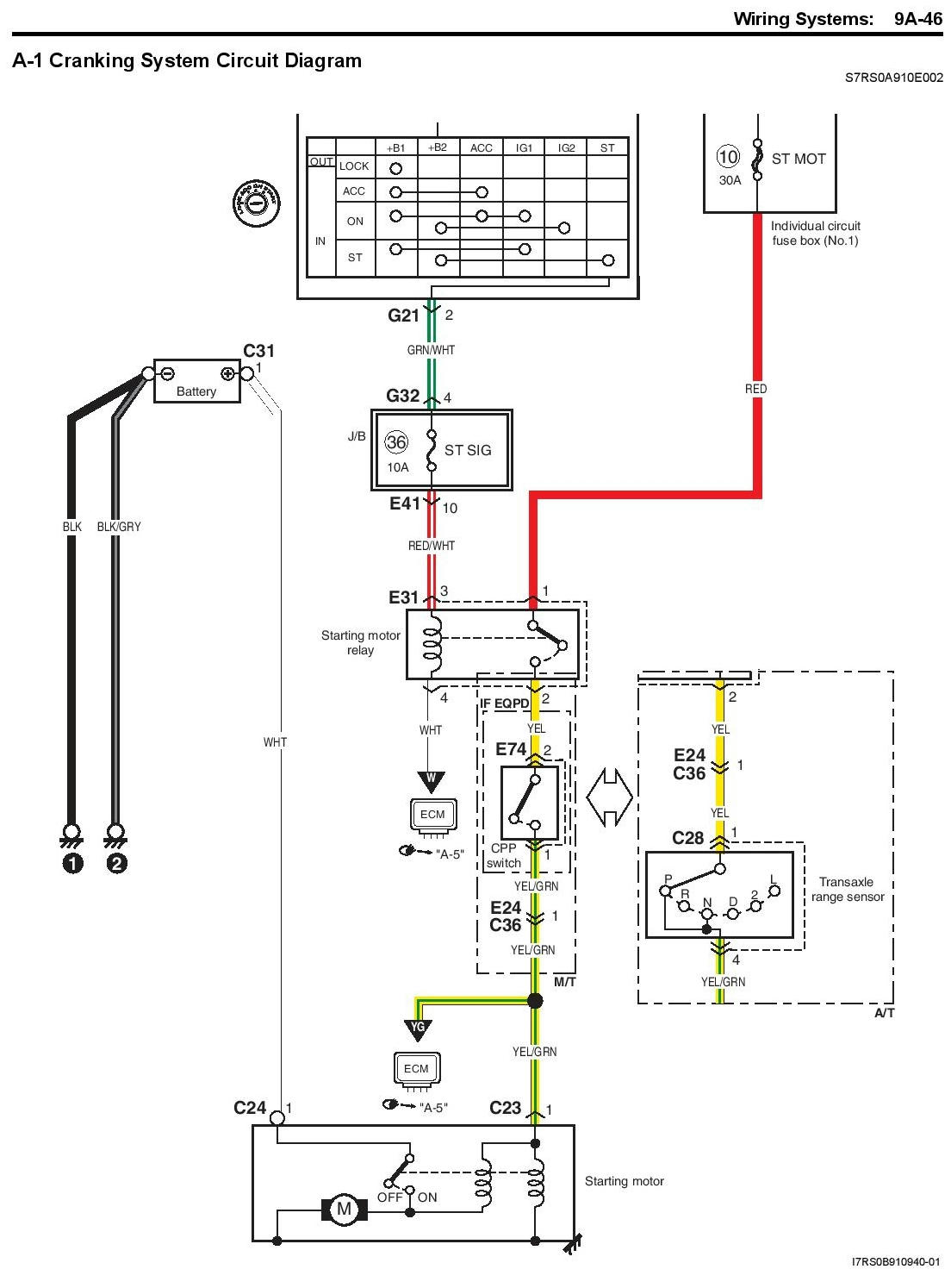 m15a 2009 engine wiring diagram ,start engine out of car