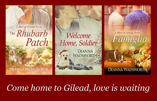 Deanna Wadsworth - Men of Gilead 3 series banner