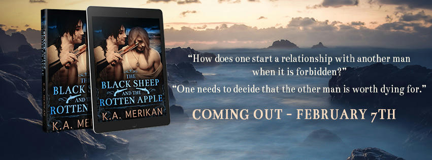 K.A. Merikan - The Black Sheep and the Rotten Apple Banner