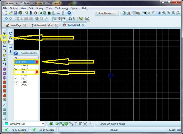 Lấy linh kiện từ PCB Layout