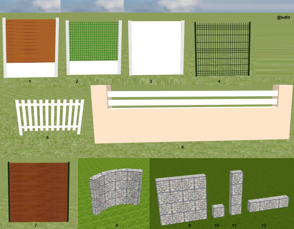 Sweet home season 2 updates: More Gates And Fences Sweet Home 3d Forum View Thread
