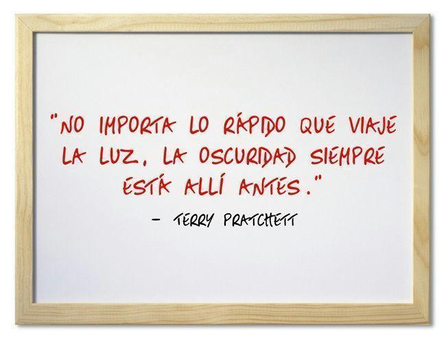 Terry Pratchett (Frase del día)