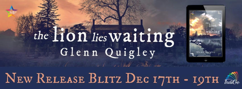 Glenn Quigley - The Lion Lies Waiting rb Banner