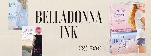 Lorelie Brown - Belladonna-Ink-series banner s