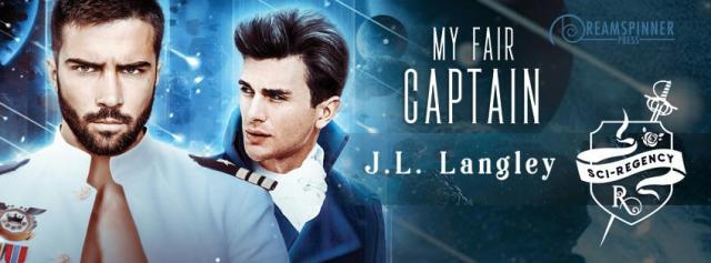 J.L. Langley - My Fair Captain Banner