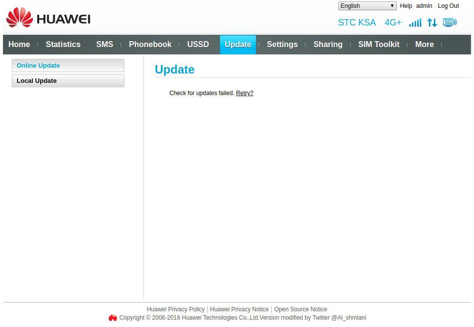 مرجع شامل لتحديثات بعض راوترات HUAWEI المعدلة وبعض التعليمات . - البوابة الرقمية ADSLGATE
