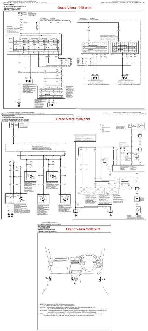 small resolution of 1999 suzuki grand vitara fuse box diagram html 1999 suzuki grand vitara jlx 1999 suzuki grand