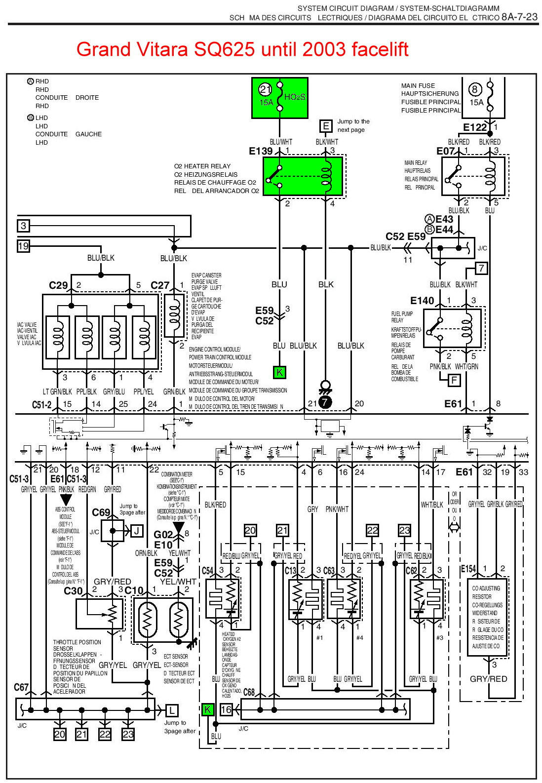 03 Chevy Tracker Ignition Fuse Wiring Diagram : 45 Wiring