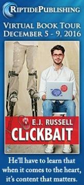 E.J. Russell - Clickbait Badge