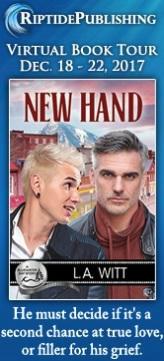 L.A. Witt - New Hand Badge