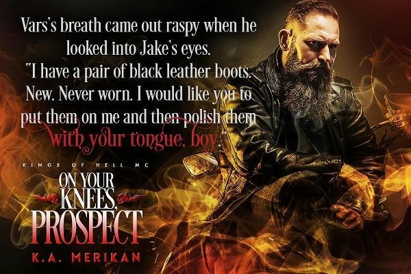 K.A. Merikan - On Your Knees, Prospect Teaser1