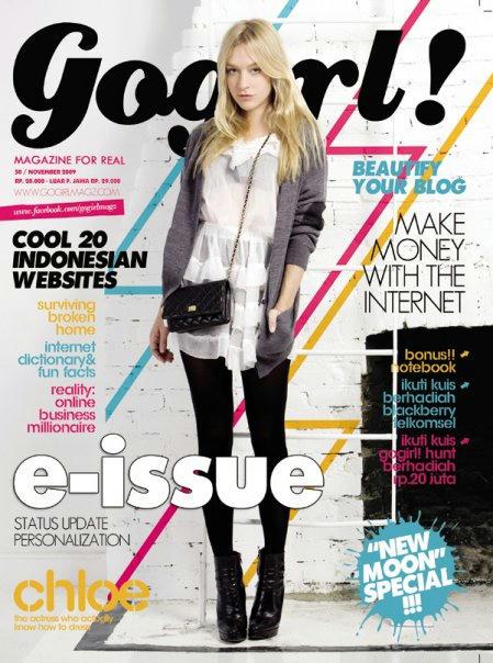 Contoh Desain Cover Majalah Yang Menarik  Creo House