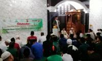 Silaturahim dengan Ulama, Kapolres Bogor Shalat Subuh Berjamaah di Caringin