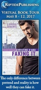 Christine d'Abo - Faking It Badge