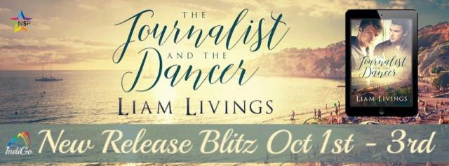 Liam Living - The Journalist and the Dancer RB Banner