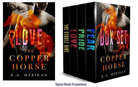 K.A. Merikan - The Copper Horse Banner