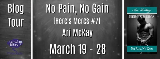 Ari McKay - No Pain, No Gain BTBanner
