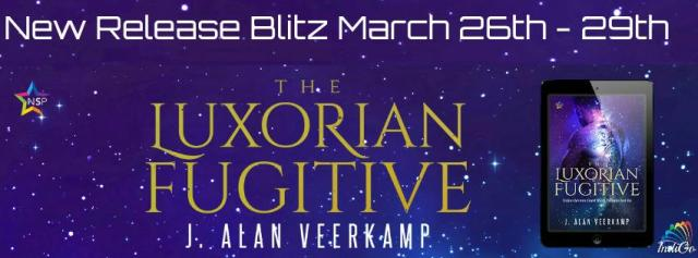 J. Alan Veerkamp - The Luxorian Fugitive RB Banner