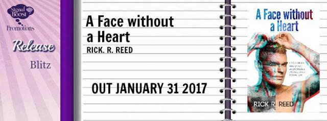 Rick R. Reed - A Face Without A Heart RD Banner
